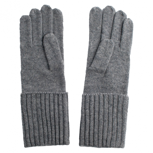 Grey Cashmere Gloves