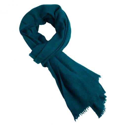 Petrol yak scarf