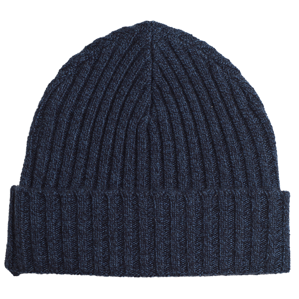 Women/'s Ribbed 100/% Cashmere Beanie Hat