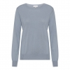 silk/cashmere sweater light blue