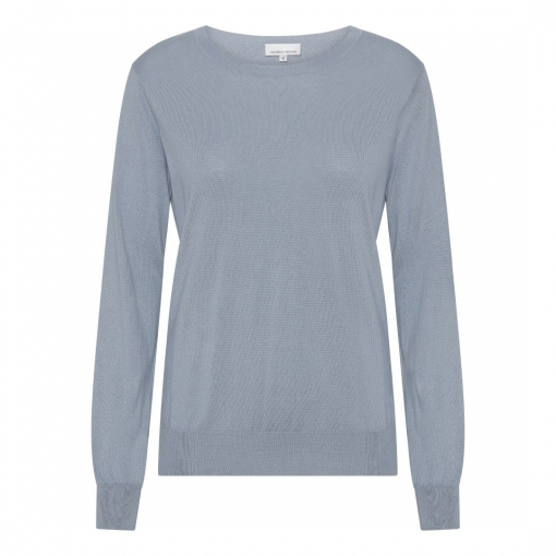silk/cashmere sweater light blue