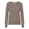 silk/cashmere sweater mink