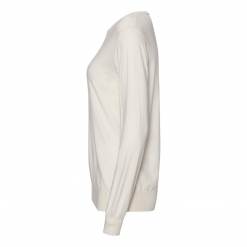 silk/cashmere sweater off white