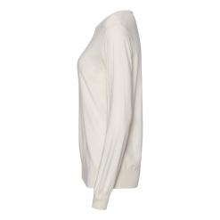 silk/cashmere sweater off white