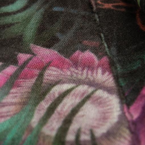 Jaguar print shawl