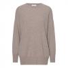 beige cashmere sweater