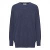 indigo cashmere sweater